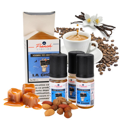 pack E-liquide café caramel vanille