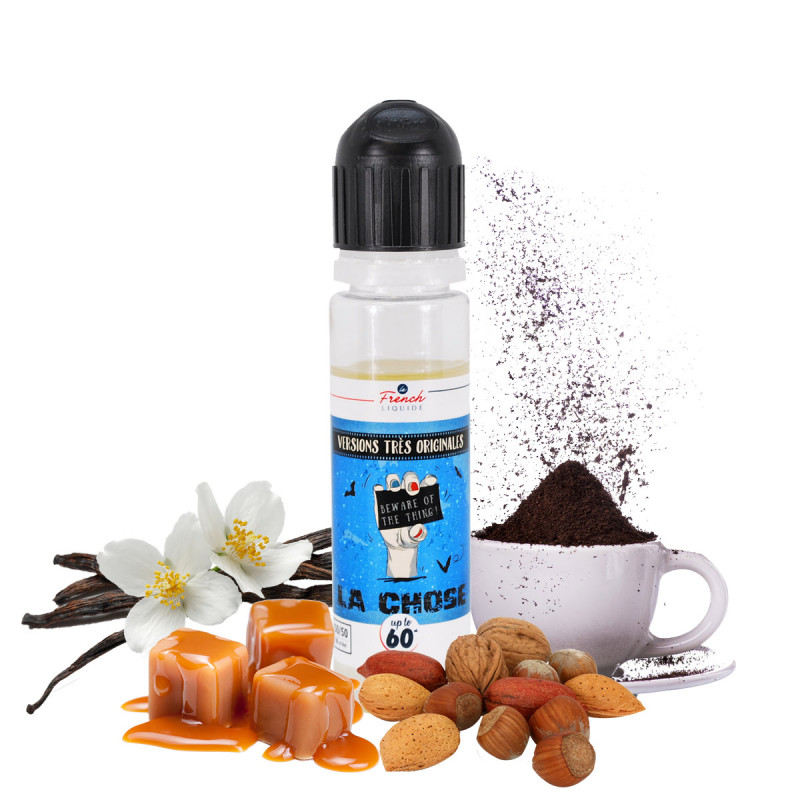E-liquide café caramel vanille