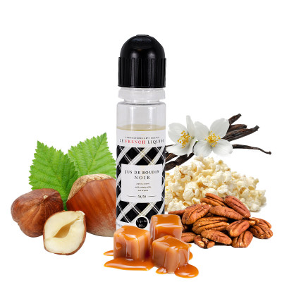 E-liquide gourmand noisette caramel vanille