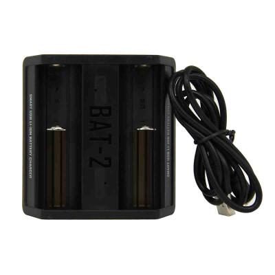 Chargeur e-cigarette BAT pour accus noir