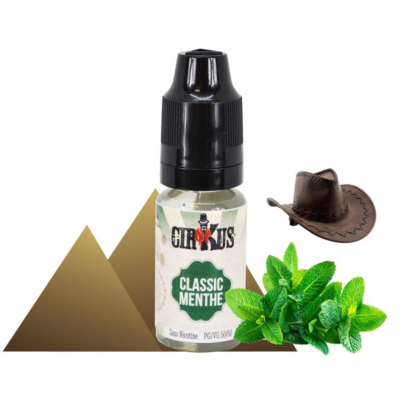E-liquide  classic menthe