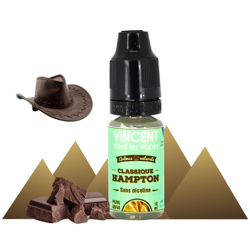 E-liquide classic burley et chocolat noir