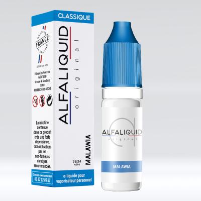 E-liquide classique tabac malawia alfaliquid 76/24 PG/VG