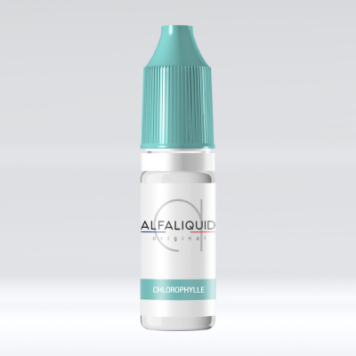 E-liquide menthe chlorophylle Alfaliquid 76/24 PG/VG