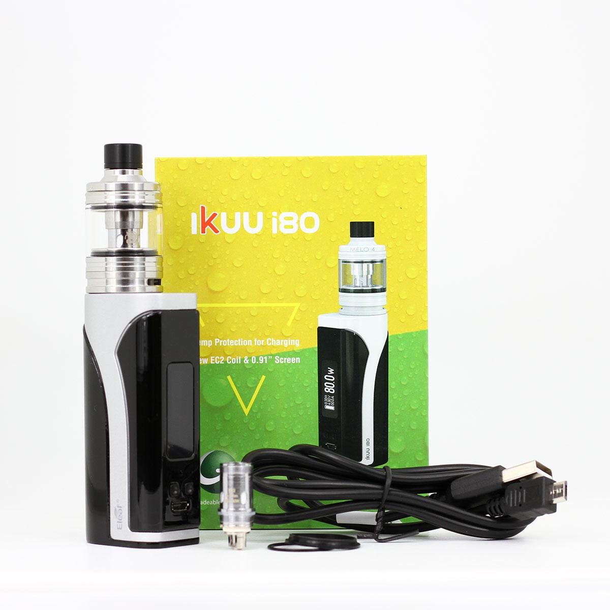 Box Ikuu I80 Kit e-cigarette Eleaf samourai steam